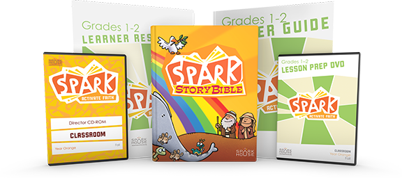 Spark Classroom product covers