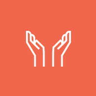 hands in praise icon